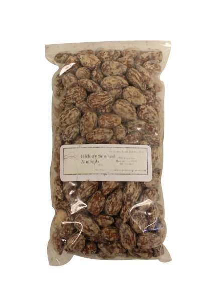 Hickory Smoked Almonds Half Pound
