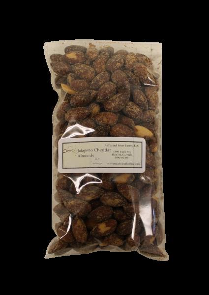 Jalapeno Cheddar Almonds Half Pound