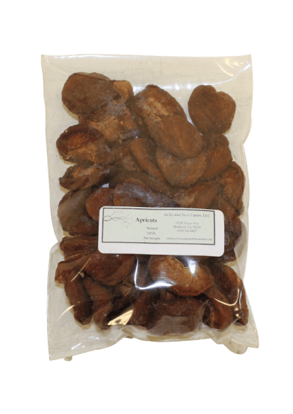 Dried Apricots Natural Half Pound