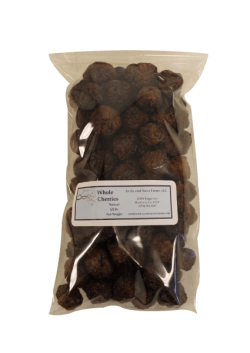 Dried Whole Cherries Natural Half Pound