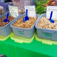 Nuts at Mar Vista Farmers' Market