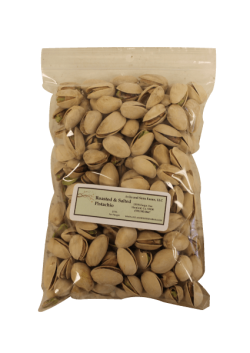 Roasted & Salted Pistachios Half Pound