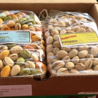 Variety of Pistachio Nuts
