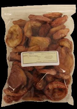Dried White Nectarines Sulphur One Pound